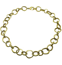 Load image into Gallery viewer, NO STRINGS NECKLACE - BRASS.