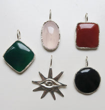 Load image into Gallery viewer, KARMA CHARM - GREEN SILVER.