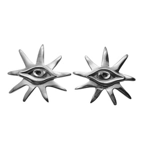 VIEW EARRINGS - SILVER.