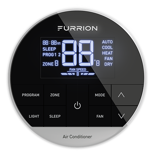 Furrion Chill Multi Zone Wall Thermostat Black