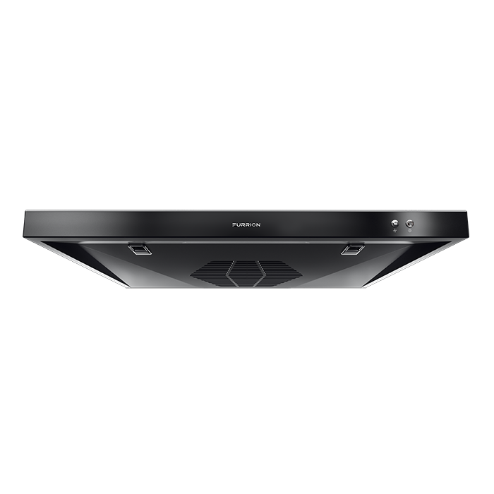 12v Rv Ducted Range Hood With Charcoal Filter Black