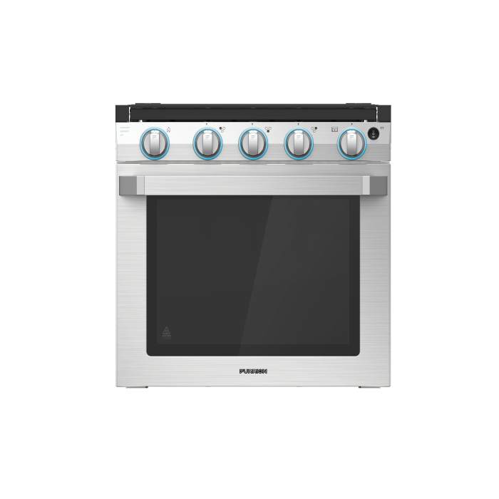 "21"" RV 3-Burner Gas Oven Range with Die-cast grates"