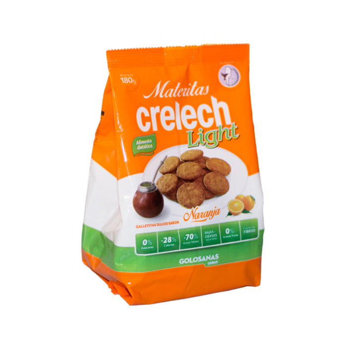 Galletitas CRELECH Light Naranja x 180 grs - Winka-store
