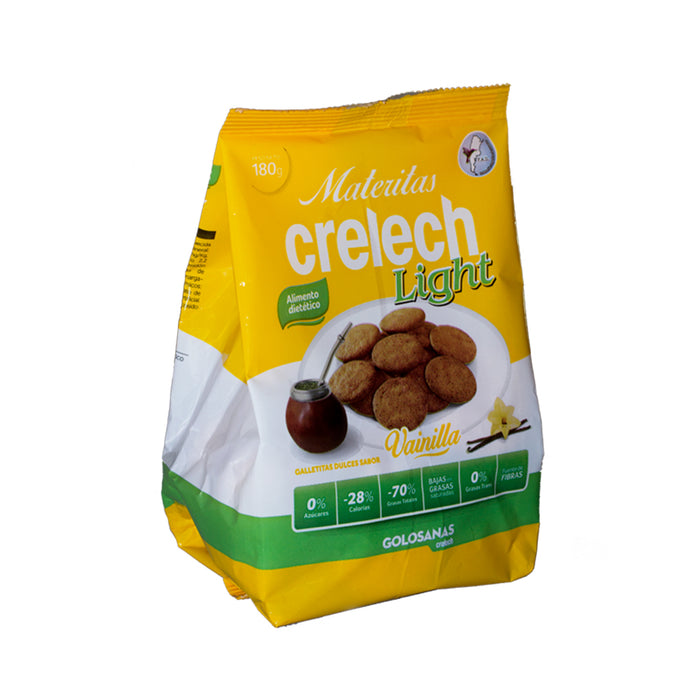 Galletitas CRELECH Light Vainilla x 180 grs - Winka-store