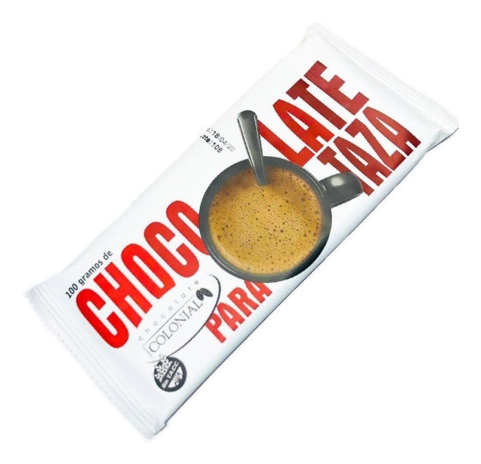 Chocolate Para Taza x 100g (Sin Tacc) - COLONIAL