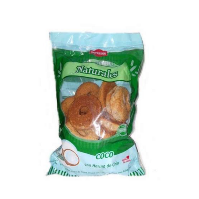 Galletitas dulces naturales sabor coco x 250 gr - NUTRESAN - Winka-store