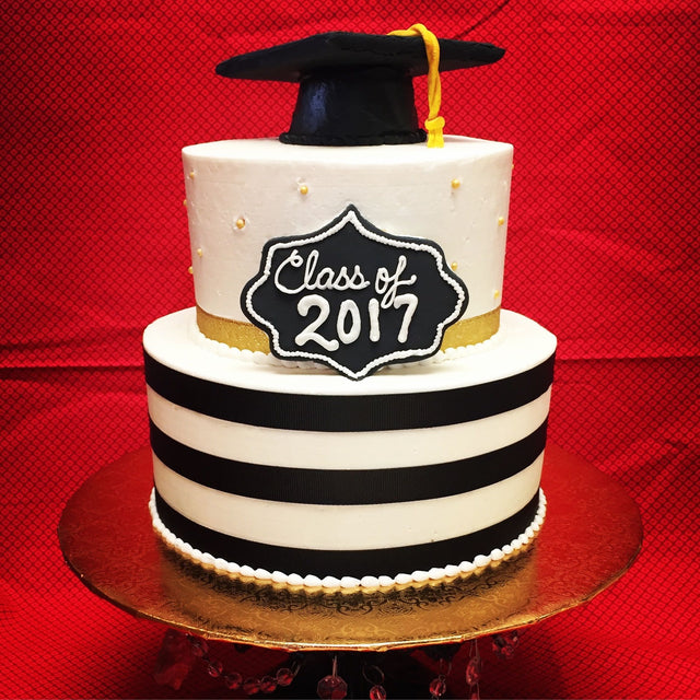 Tiered Graduation Cake (pickup only)