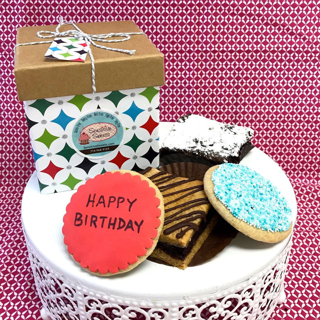 Birthday Brownie and Cookie set (SHIP)