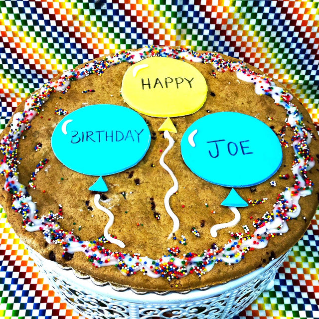 "10"" Extra Large custom cookie"