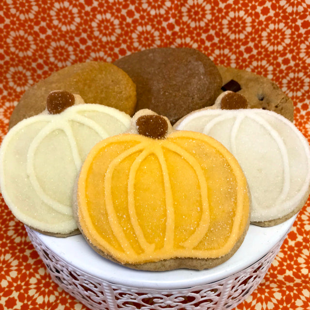 Fall Pumpkin Cookie set
