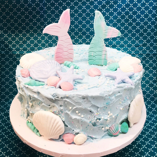 Mermaid Tail Cake