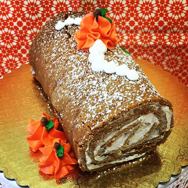 Pumpkin Spiral roll (pickup only)
