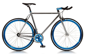 Big Shot Bikes city commuter Custom Fixed Gear Bicycle fixie  chrome frame or urban commuting
