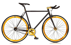 Big Shot Bikes city commuter Custom Fixed Gear Bicycle fblack  frame or urban commuting