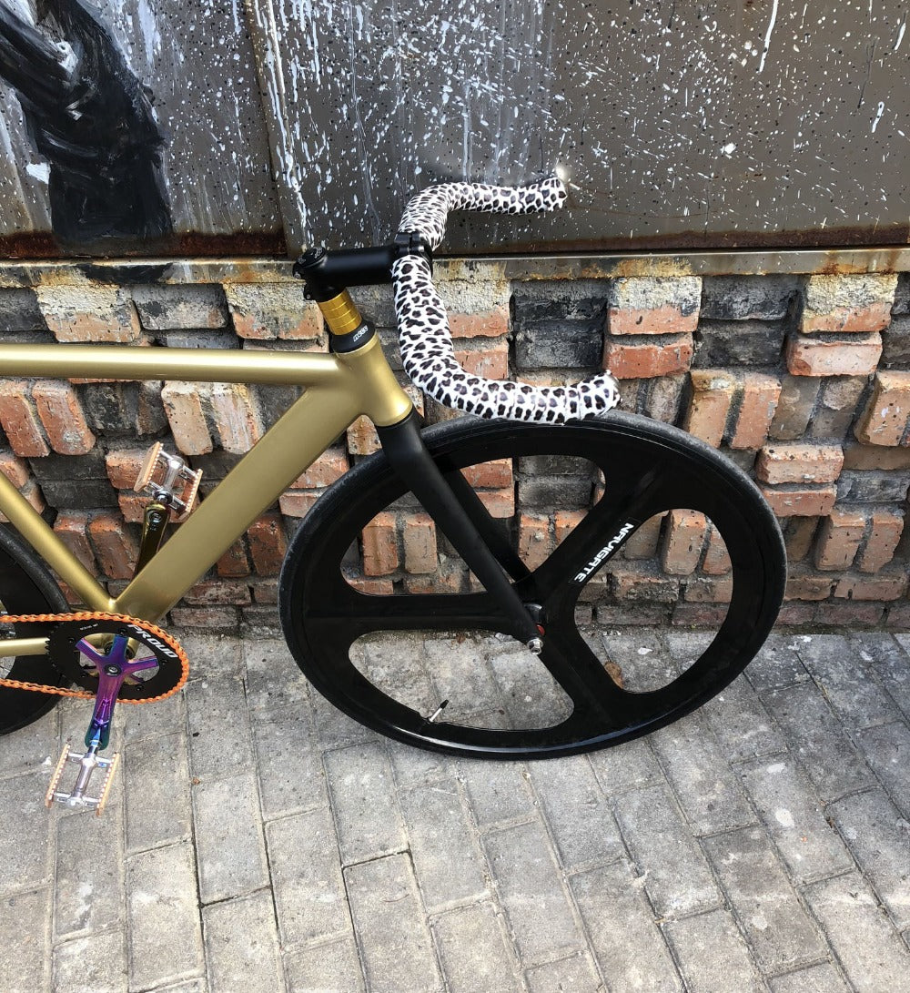 Fixed Gear Bike 54cm  58cm  single speed bike Smooth Welding frame  Aluminum alloy Track Bicycle 700C wheel DIY color