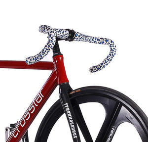 Fixed Gear Track Bike | Tri Spoke Red