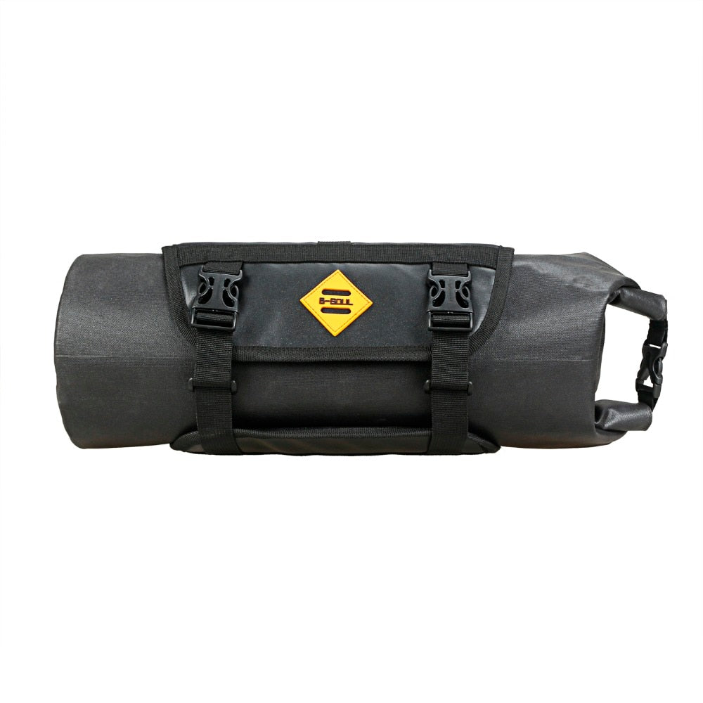 B-SOUL Bike Handlebar Bag Waterproof Bicycle Handlebar Basket Pack Cycling Front Frame Pannier Bicycle Accessories