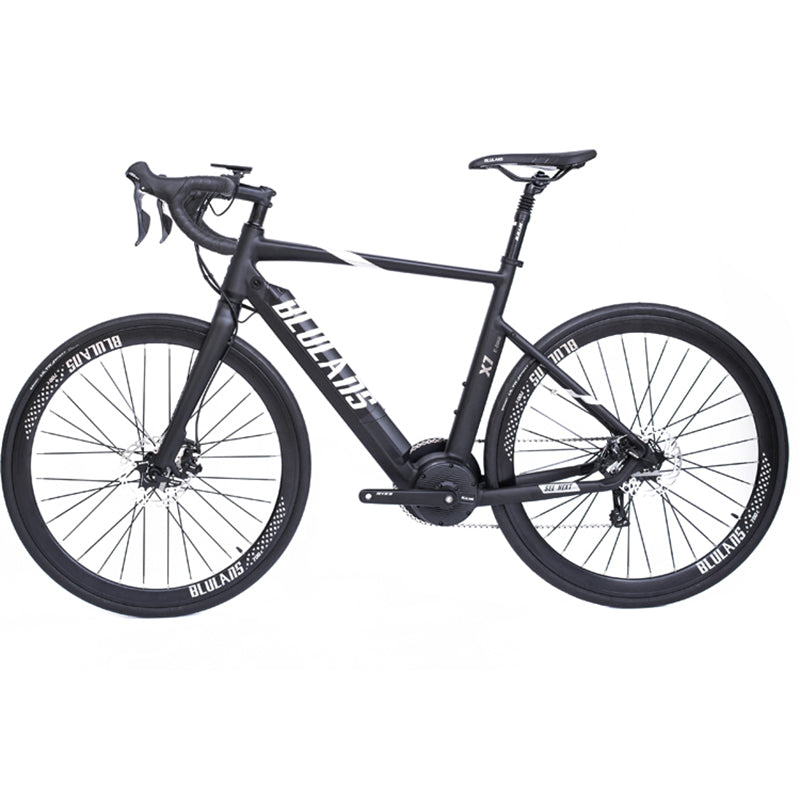 BLULANS Model x7 Electric Road Bike 36v 250w Mid-Drive