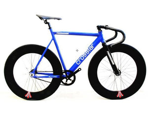 Fixed Gear Track Bike | 90mm Rim & Carbon Fork