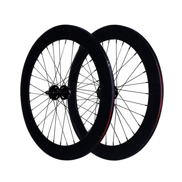 Find Fixed Gear bike 70mm wheels RIM aluminum alloy wheelset, road bike wheel rim, fixie bike rim, Track bike flip-flop wheels
