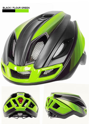 2020 Ultralight Cycling Helmet With Rear Safety Light