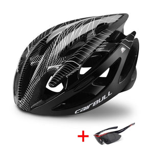 Cairbull Ultralight Road Bike Helmet with Sunglasses For Men Women