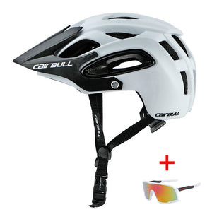 Ultralight Mountain Bike Helmet With Visor for Men and Women