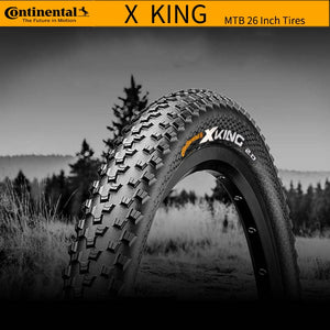 Continental X king Cross King  Anti Puncture Tubeless MTB Bicycle Bike Foldable Tires