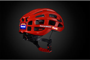 ROCKBROS Ultralight Cycling Helmet With Safety Lights