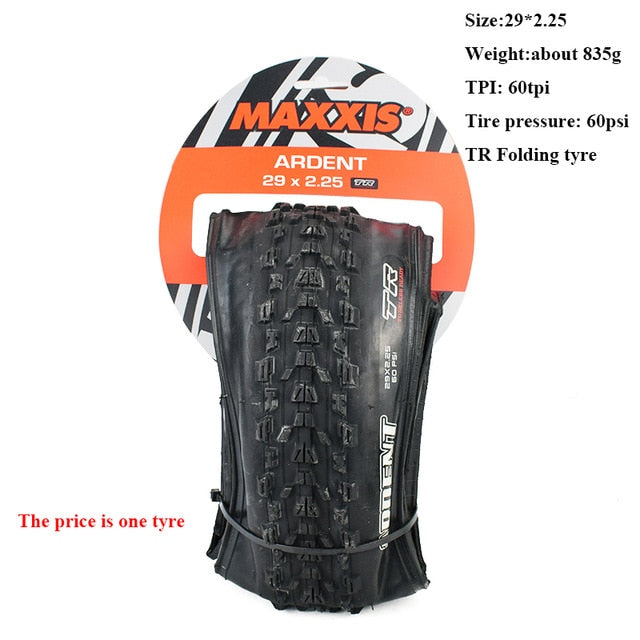MAXXIS ARDENT Tubeless Mountain Bike Bicycle Tire