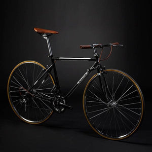 New Retro Road Bicycle Carbon Steel Frame 700CC Wheel SHIMAN0 14 Speed Dual V Brake Bike Outdoor Racing Cycling