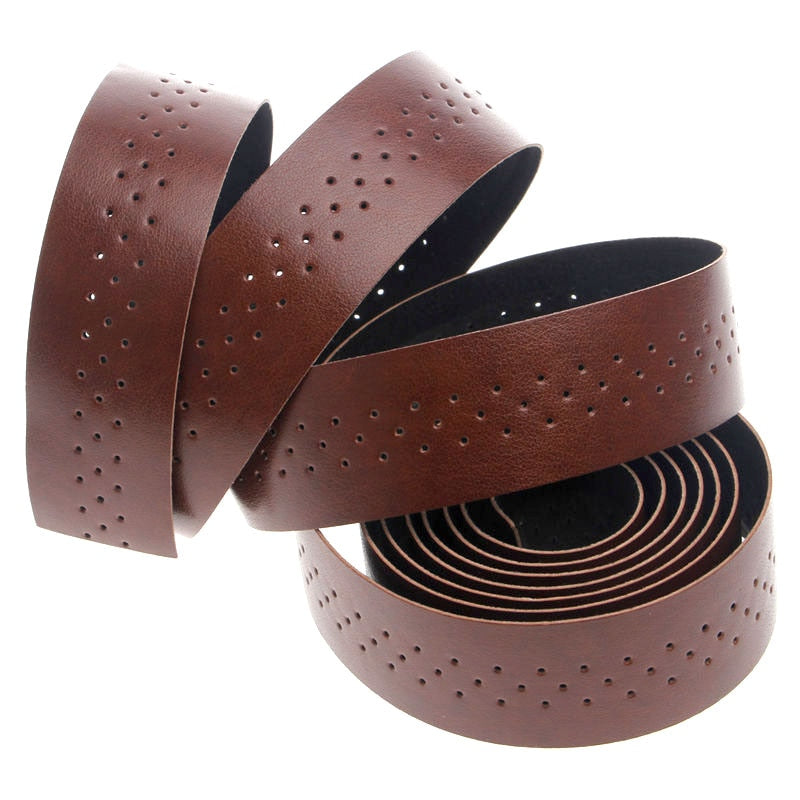 Bicycle Handlebar Tape Road Bike - Faux Leather