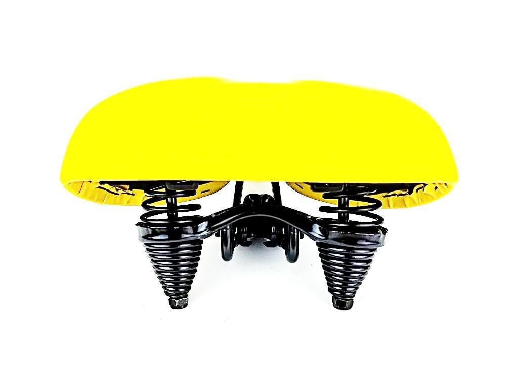 Yellow Beach Cruiser Saddle, Beach Cruiser Seat, Cruiser Seat, Beach Cruiser Seat, Bicycle seat, Bike Seat, Custom Cruiser