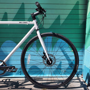 Big Shot Bikes - 8 speed city bike with disc brakes and shimano atlas 8 speed