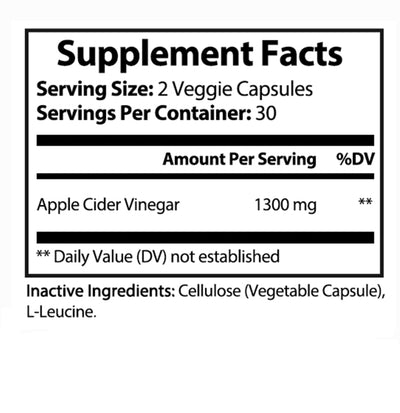 Vitamins Ultra Apple Cider Vinegar