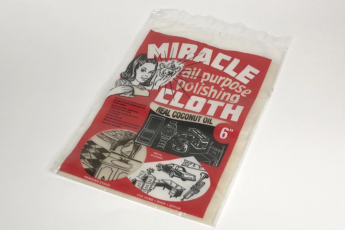 Miracle all-purpose Coconut oil Polishing cloth