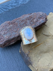 Sterling Silver & Moonstone
