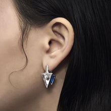 Load image into Gallery viewer, TRILLIANT ZIRCON DROP EARRINGS Ocean