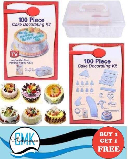 100 pcs Cake Decorating Tool Kit set
