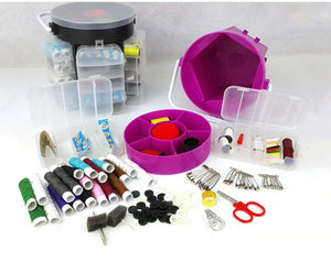 Organizer Sewing kit Set with 210 pieces included