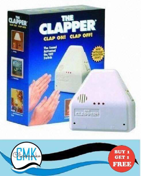 The CLAPPER (clap on clap off)