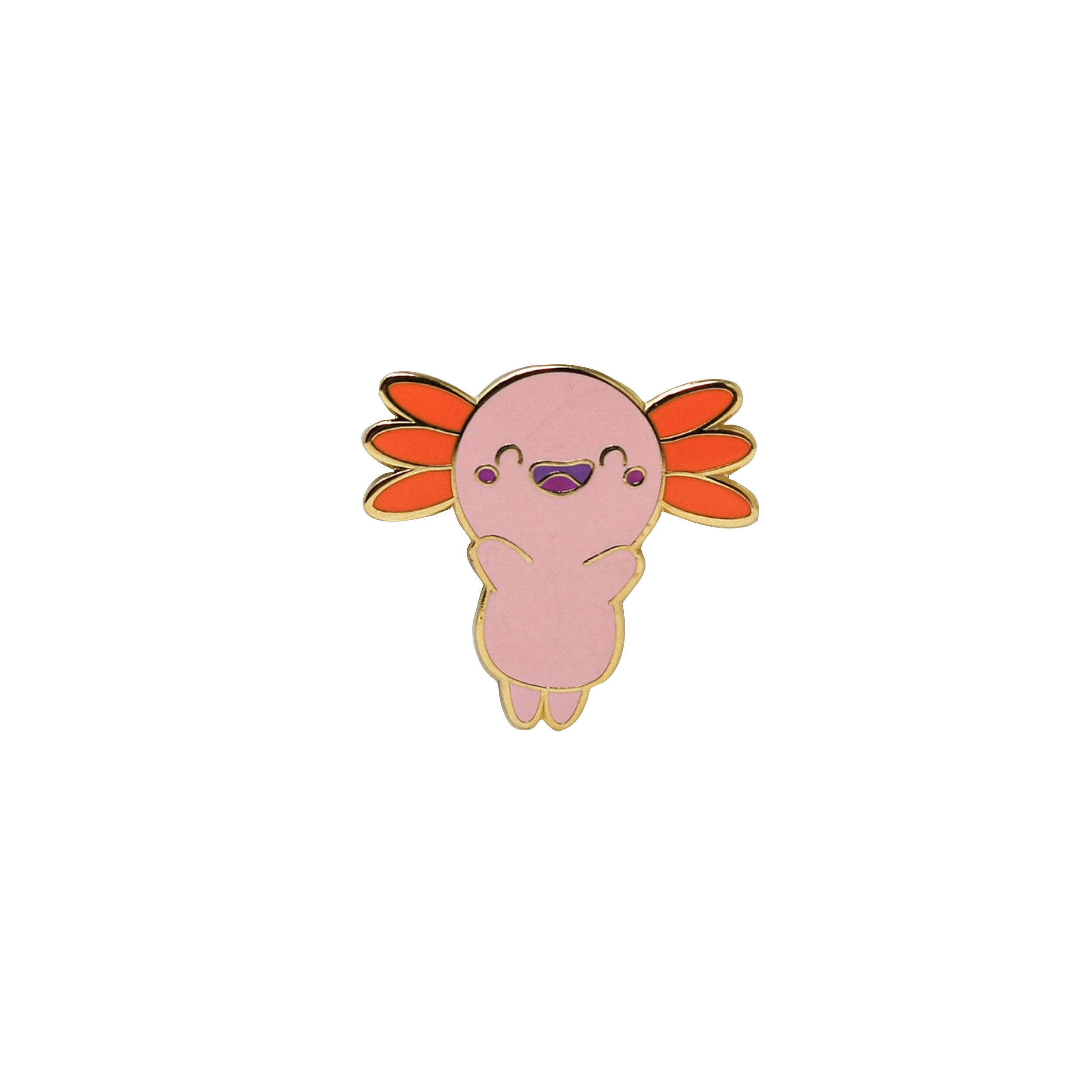 Happy Peach Pin