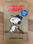 its your turn, Snoopy - Book