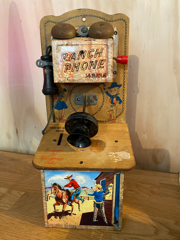Codec Tinplate Ranch Phone / money box