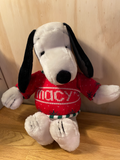 FAB VINTAGE SNOOPY  MACY Store NYC FROM 1972 USA ( 55 CM HIGH )