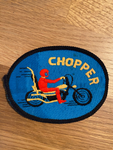 Vintage Chopper Sew on Patch