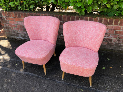Mid Century Pink Cocktail chairs