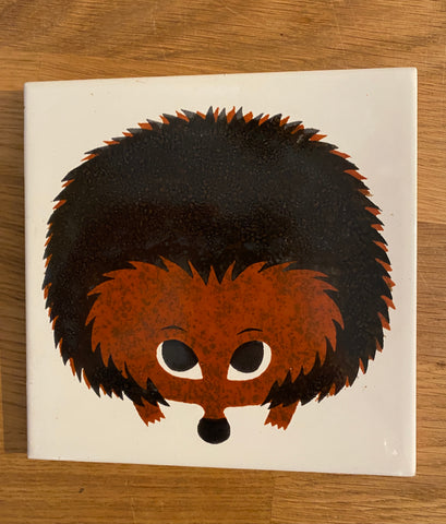 Kenneth Townsend 'Hedgehog' tile