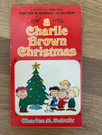 A Charlie Brown Christmas Book Snoopy Rare  1965