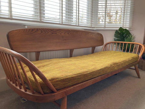 Ercol Blonde Mid Century Daybed - Lucian R Ercolani